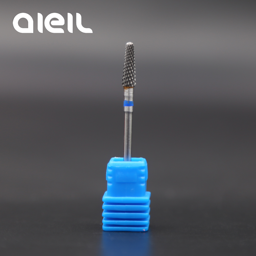 Image 5 - Tungsten Carbide Milling Cutter Burrs Nail Drill Bits Machine Nail Cutter Nail File Manicure For Manicure Nail Art Accessories-in Electric Manicure Drills from Beauty & Health