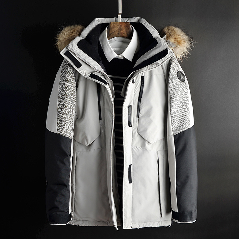 9018ca4aa HOT SALE] Warm Thick winter down jacket men brand clothing Top ...