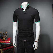 2017 new summer Men's High quality cotton polo shirt Men's Short Sleeve polo shirts casual style sportswear  plus-size M-7XL
