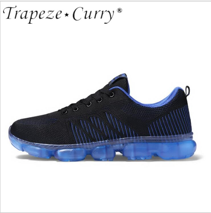 New listing hot sale summer fly weave Breathable men running sneakers big size 39-45 T1802