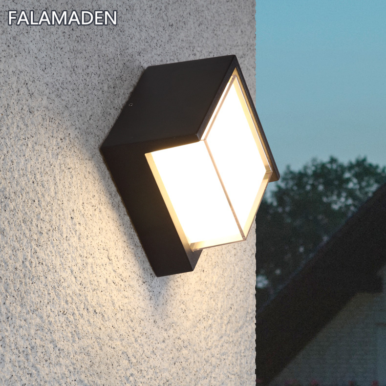 High quality Outdoor Waterproof Wall Lamp IP65 8W LED Wall Light Indoor Decoration Bedroom Beside Lamp Corridor Garden LightingHigh quality Outdoor Waterproof Wall Lamp IP65 8W LED Wall Light Indoor Decoration Bedroom Beside Lamp Corridor Garden Lighting