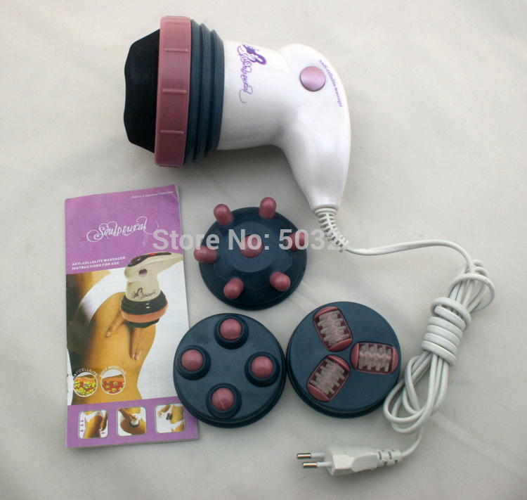 Brand new style electric full body massager professional weight loss relax spin tone as seen on TV health care electric full slimming body massager vibrator fat reducing machine health care massage handheld relax spin tone massager women