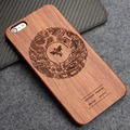Natural Retro Real Wood + PC Case for iPhone 6s plus Novelty Vintage Case Cover for iPhone 6 plus Hard Back Cover
