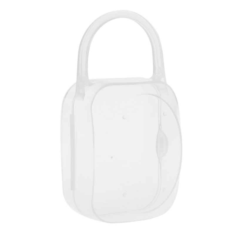 Portable Baby Kid Feeding Bottle Pacifier Soother Nipple Case Holder Storage Box ...