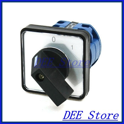 Panel Mounted ON/OFF 2 Position 8 Screw Terminal Changeover Switch 16a 500vac 12 screw terminal 4 positions universal changeover switch