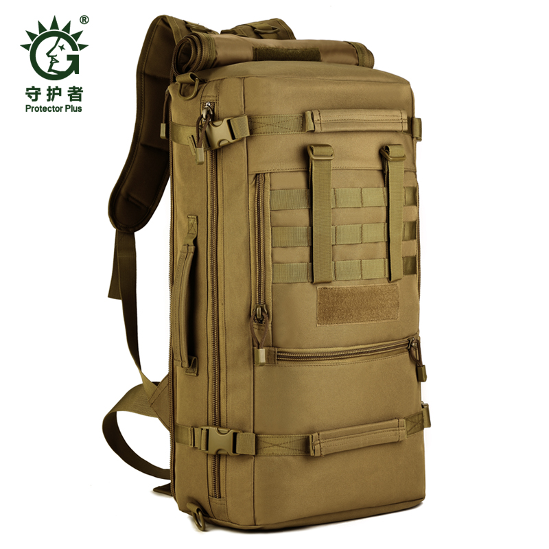 Outdoor 50 L Sport Climbing Camping school bag 3 Use shoulder bagTrekking Molle travel Bags Military Tactical Backpack new arrival 38l military tactical backpack 500d molle rucksacks outdoor sport camping trekking bag backpacks cl5 0070