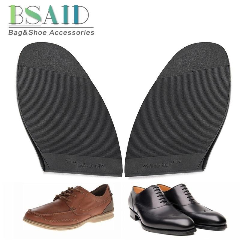 BSAID 1 Pair Anti Slip Shoe Sole, Rubber Non-slip Shoe Outsoles For Women Men Camping Wear-proof Shoe Soles Stick-up Bottoms