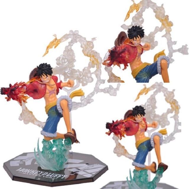 Một Mảnh BẰNG KHÔNG Portgas D Ace Battle Ver. Fleam Monkey D Luffy NHỰA PVC Đồ Chơi Mô Hình với Hộp Trẻ Em Quà Tặng Giáng Sinh