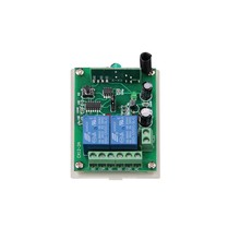 DC 12V 24V 2 CH 2CH RF Wireless Remote Control Switch System,315/433.92MHZ Receiver Only