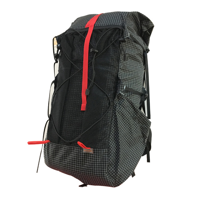 3F UL XPAC Dyneema Backpcak 35L-45L Ultralight Hiking Frameless Packs 2