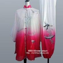 Customize Tai chi clothing taiji uniform Martial arts suit wushu performance clothes kungfu outfit for women girl kids children