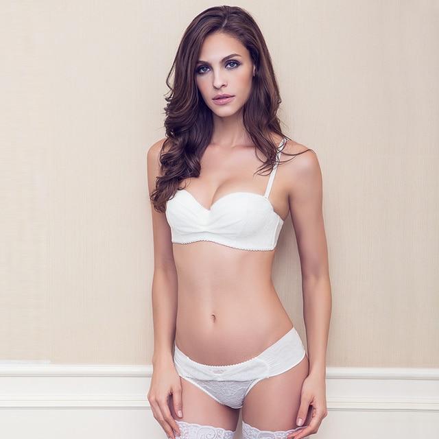 9979212d8c S57 Fashion Comfortable Lace Bowknot Women s Underwear Lingerie Sexy Bra  and Panties Set