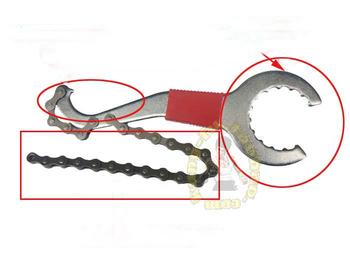 3pcs/lot Flywheel Combination Tools Mountain Bike Repair Tool Kit Chain Cutter Axis Repair Tool