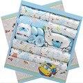 19 Peça Conjunto Presente Do Bebê Recém-nascido 100% Algodão Character 0-1year lnfant Roupa Interior Do Bebê Roupas de Menina