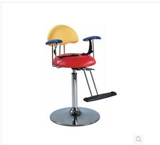Купить с кэшбэком Hairdressing chair intended for children. Children safe and convenient haircut seat. Cartoon modelling chair.