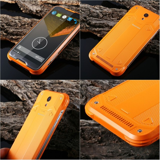 Original Blackview BV5000 5.0inch Android 5.1 MTK6735 Quad Core Waterproof Cell Phone