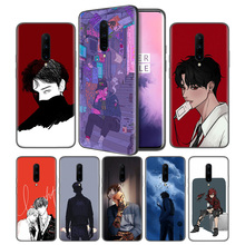 Anime Cartoon boys Soft Black Silicone Case Cover for OnePlus 6 6T 7 Pro 5G Ultra-thin TPU Phone Back Protective