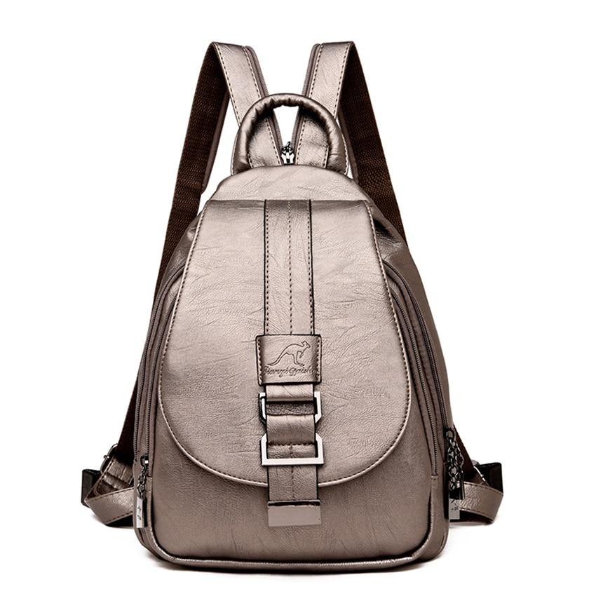 HTB16LmdXPzuK1Rjy0Fpq6yEpFXas New 2018 Women Leather Backpacks Vintage Shoulder Bag Winter Female Backpack Ladies Travel Backpack Mochila School Bags For Girl