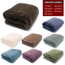 Очень мягкое Флисовое одеяло для взрослых фланель самолета диван офис шерпа Одеяло Полотенца путешествия Портативный Автомобильные путешествия крышка бросок Одеяло