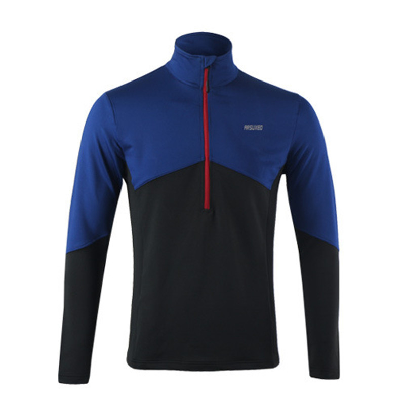 ARSUXEO Dry Fit Running Shirt Ανδρών Ποδηλασία Jersey - Ποδηλασία - Φωτογραφία 4