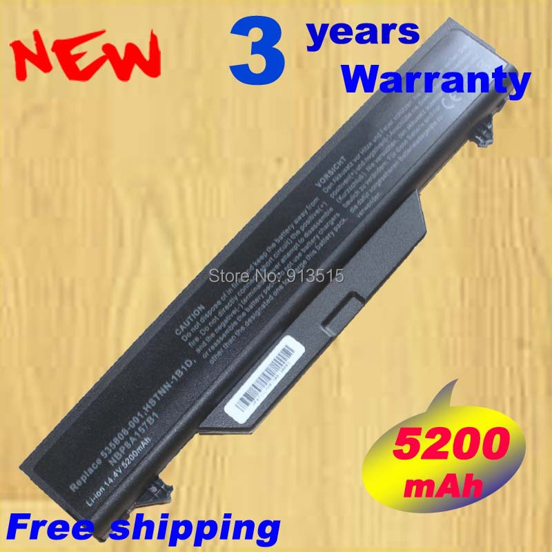 wholesale new 8 Cells Laptop font b Battery b font For HP 4510S 4710S 4515S Seties