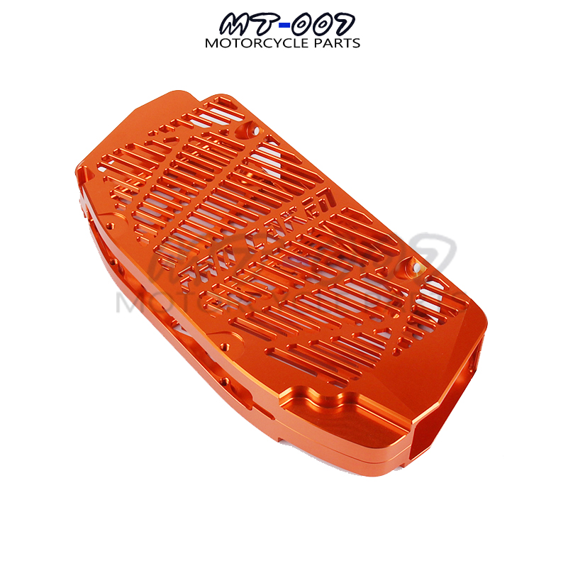 orange Universal KTM water tank protective cover anti - fall sand support for KTM SXF/XCF 250-450 Off - road motorcycle parts universal orange