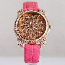 Melissa Genuine Leather Japan Quartz Wrist watch Women Fashion Jewelry