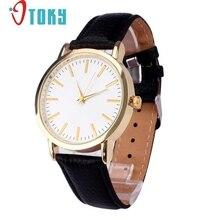 2017 New Quartz watch For Ladies Males Band Analog Quartz Enterprise Wrist Leather-based Quartz Wrist Watches Ladies relogio femin #1128