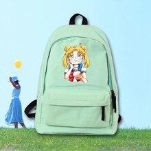 Аниме Сейлор Мун Косплей Мужские и женские студенты мило рюкзак большой емкости рюкзак