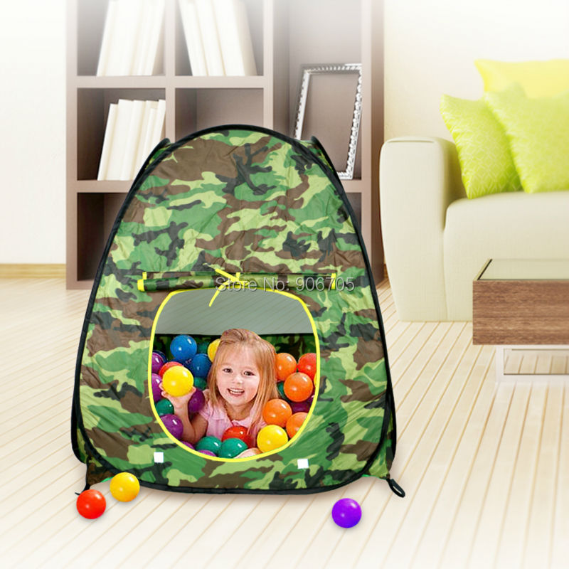 camouflage colors play tent Kids Portable Pit Ball Pool Outdoor Indoor Baby Tent Castle Play house