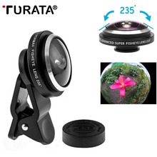 TURATA 235 Degrees Phone Lents Super Fisheye Camera Fish Eye