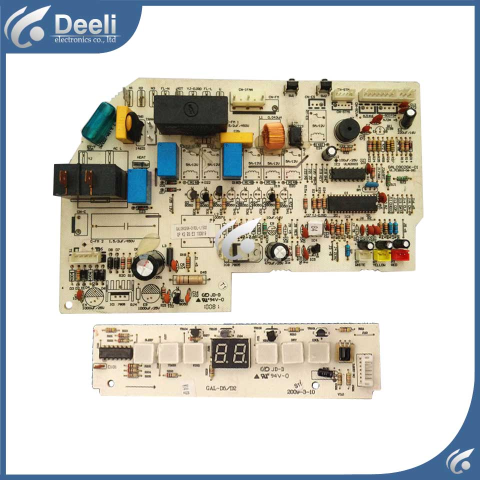 95% new Original for Galanz air conditioning Computer board GAL0902GK-01RD-L0502 GAL0902GK-01 circuit board GAL-D5/D2 set холодильник galanz bcd 217t