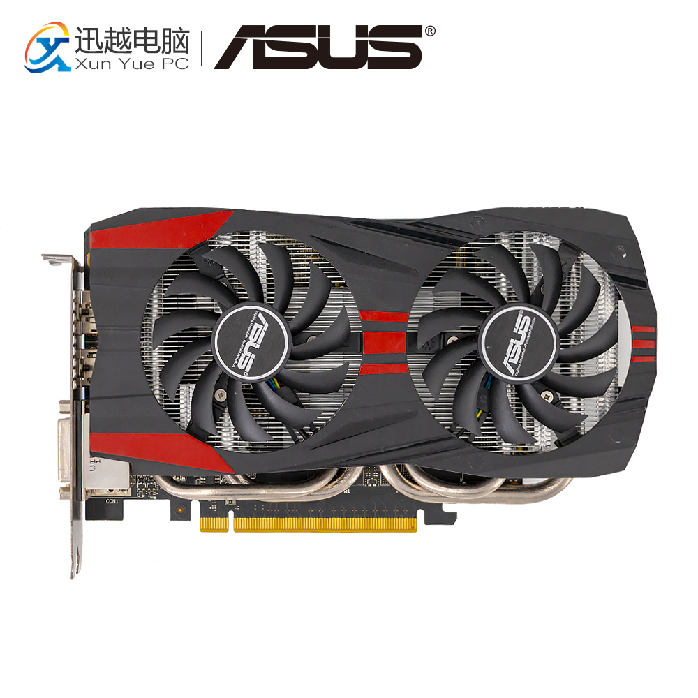 ASUS GTX760-DC2OC-2GD5 Schede Grafiche 256 Bit Originale GTX 760 2g GDDR5 Scheda Video HDMI 2 * DVI DP 1006 mhz ~ 1072 mhz GTX760