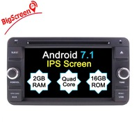 Android 6.0 7.1 Car DVD Player GPS Navigation For Suzuki Jimny Sat Nav GPS Radio Stereo 2007 2017 Multimedia Monitor Stereo