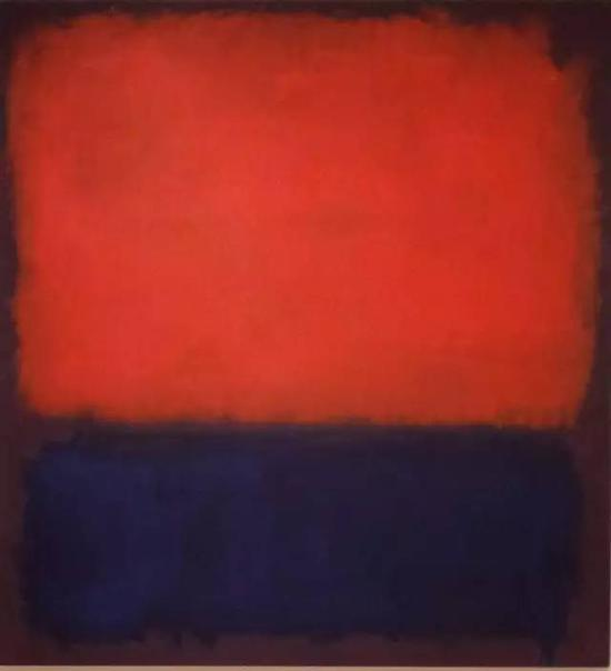 Peint à la main Mark Rothko abstrait Style américain peinture à l'huile toile sans cadre paille art décor à la maison cadeau sur le mur