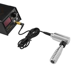 Image 4 - Rotary Tattoo Machine Gun Permanent Makeup Eyebrow Lip Microblading Body Art Shader Liner for Power Supply Tattoo Needles Supply