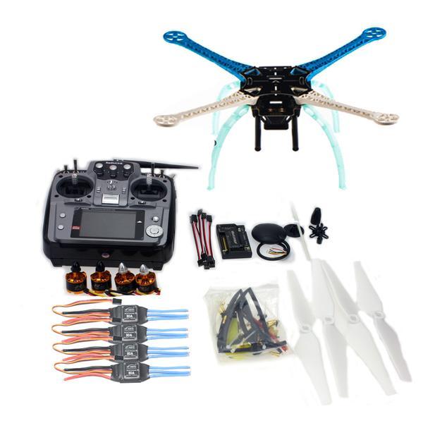 DIY GPS font b Drone b font S500 PCB Multi Rotor Frame Full Kit APM2 8