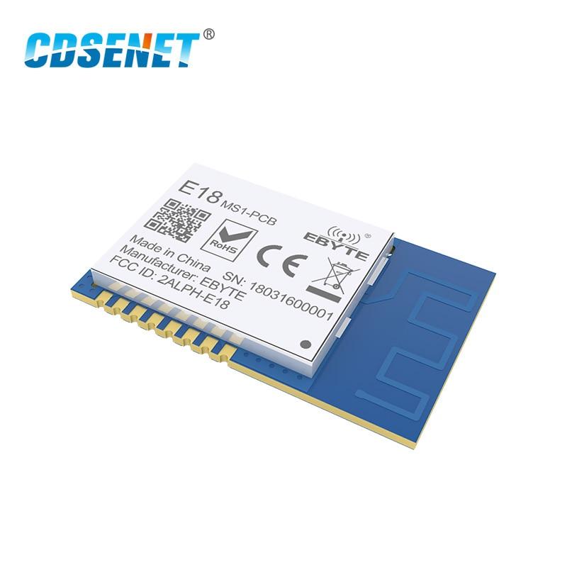 Zigbee CC2530 Core Board SMD Wireless Transmitter Module With Shield PCB IPX Antenna 3