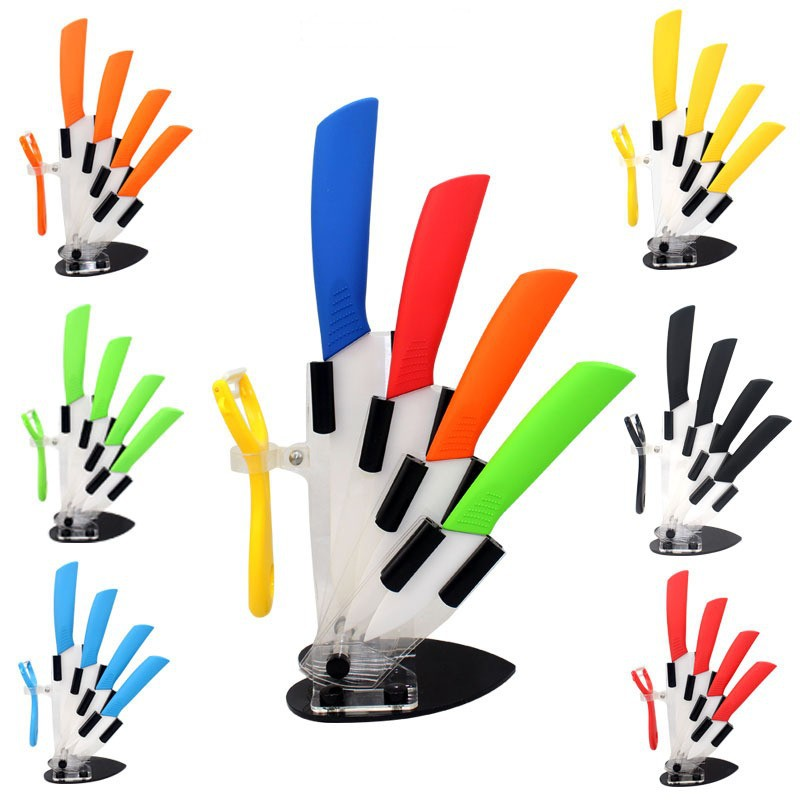 colored kitchen knife block set reviews - online shopping colored