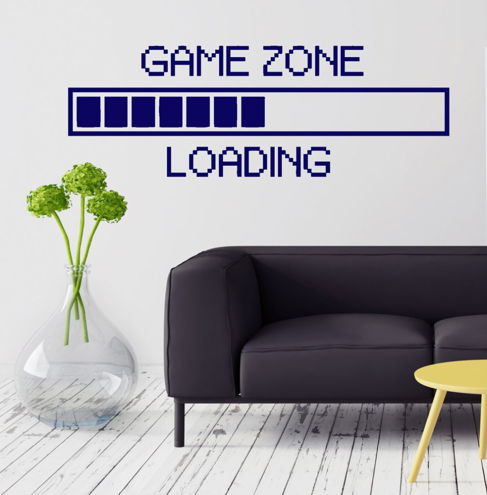 Game zone computer gaming wall stickers vinyl wall sticker decor game zone computer gaming wall stickers vinyl wall sticker decor loading video game wall tattoo removable wallpaper sa170 amipublicfo Choice Image