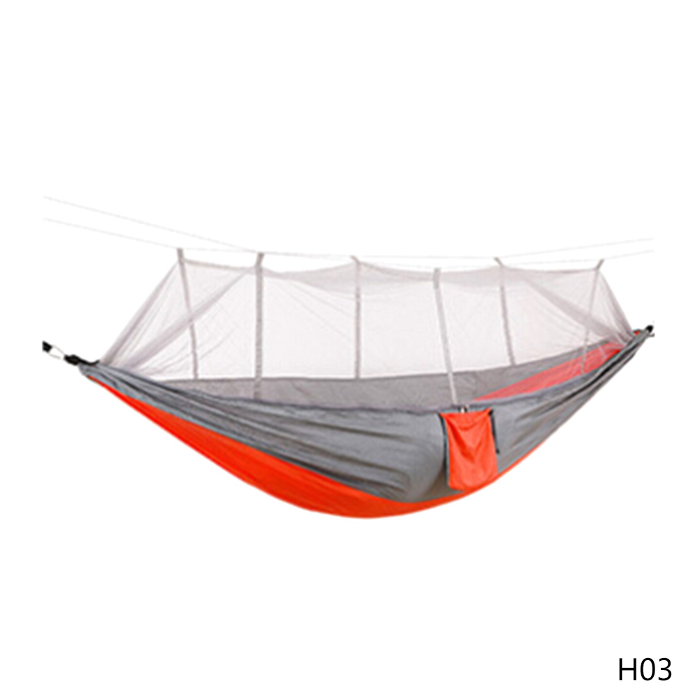 camping air tent Hanging Sleeping Swing Outdoors Tools Net Nylon Hammock ultra light Mosquito Outdoor portable Camping