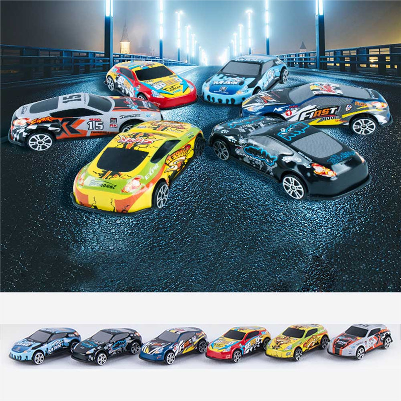 Cool Tough Alloy Mini Racing Vehicle Gift 6-Car Gift Pack Car Toys  Voitures Petites Voitures Model Machine Juguete QC3
