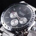 JARAGAR Esporte Mens Relógio de Aço Moda Relógio Mecânico Automático Dos Homens Relógio de Pulso Famoso Projeto Masculino de Negócios de Luxo Relógios
