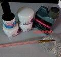 New Professional crystal 120ml Acrylic Liquid Powder Pen Deppen Dish PRIMER Nail Art Tips Design Set Kit #2