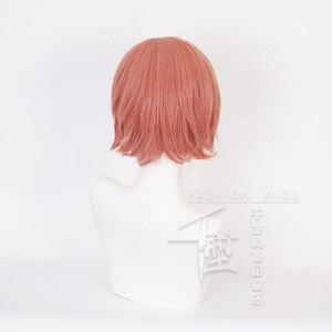 Image 2 - ญี่ปุ่นอะนิเมะ Sayori คอสเพลย์วิกผมสั้นสีส้มสีแดงวิกผมความร้อนเส้นใยเครื่องแต่งกายปาร์ตี้
