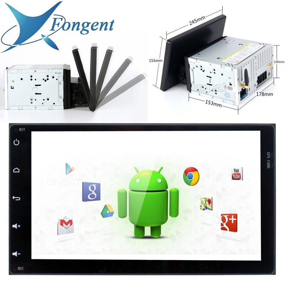 Fongent 10.2 Android 8.0 Car GPS Radio Player for 2 din Universal with Octa Core 4GB+64GB Auto Stereo Multimedia Headunit PX6Fongent 10.2 Android 8.0 Car GPS Radio Player for 2 din Universal with Octa Core 4GB+64GB Auto Stereo Multimedia Headunit PX6