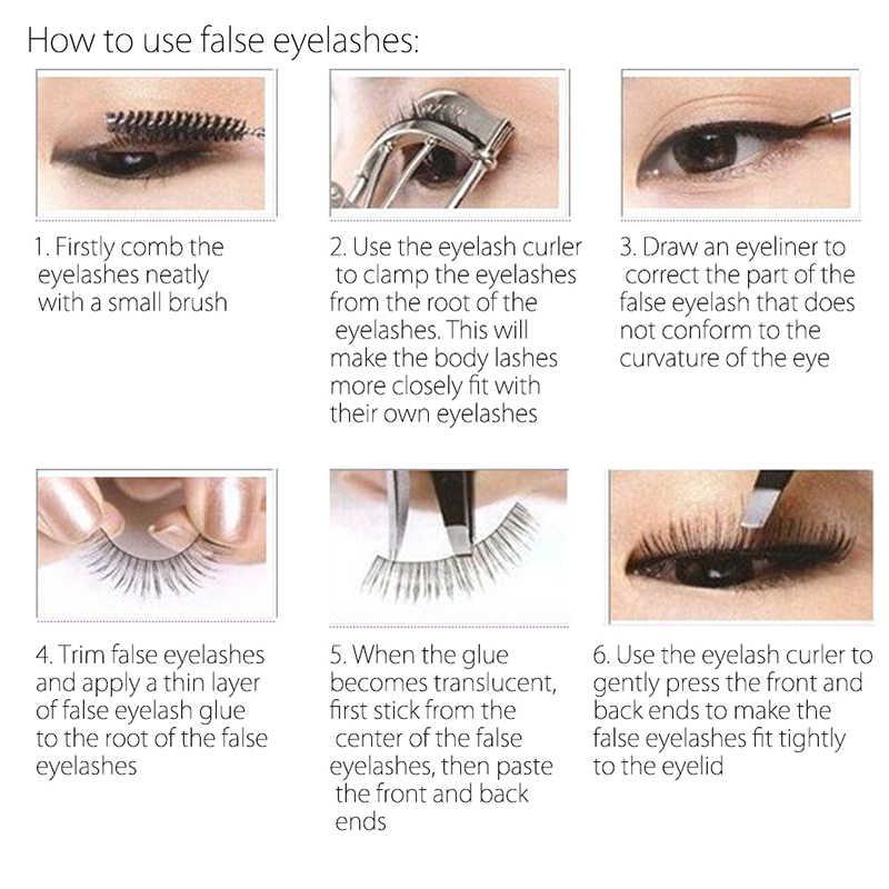89f3c1b16db ... MIXDAIR Professional Makeup False Eyelashes 3D Mink Lashes Eyelash  Extension Handmade Women Beauty Makeup Tools with ...