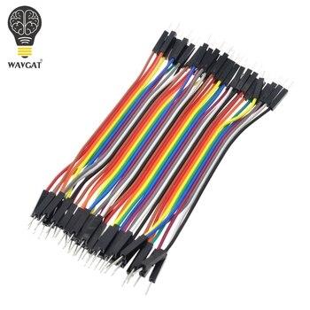 40 шт./лот 10 см 2.54 мм 1pin мужчинами перемычку Dupont кабеля