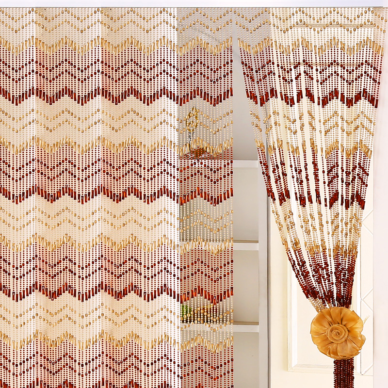 Multi Size and Color Room Partition Curtain Acrylic Beads Nylon Cord Chains Home Cafe Background Decoration Drapes Customizable