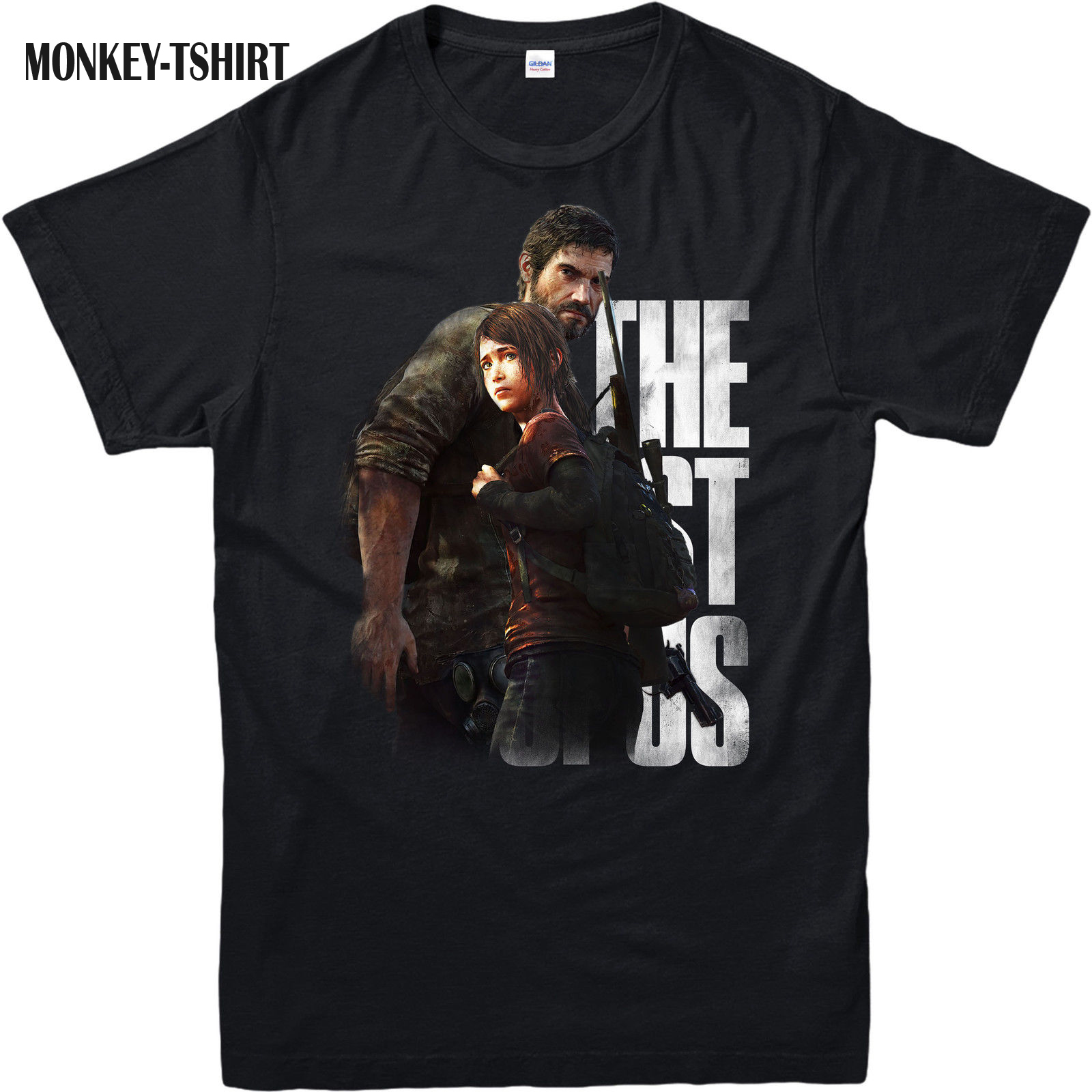 LEQEMAO The Last of us T-Shirt,Adventure Survival Horror Game,Adult and kids Sizes 100% Cotton Short Sleeves Tee Shirts